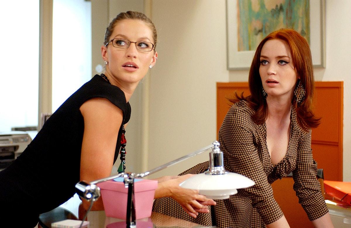 THE DEVIL WEARS PRADA, Gisele Bundchen, Emily Blunt, 2006. TM & Copyright (c) 20th Century Fox Film