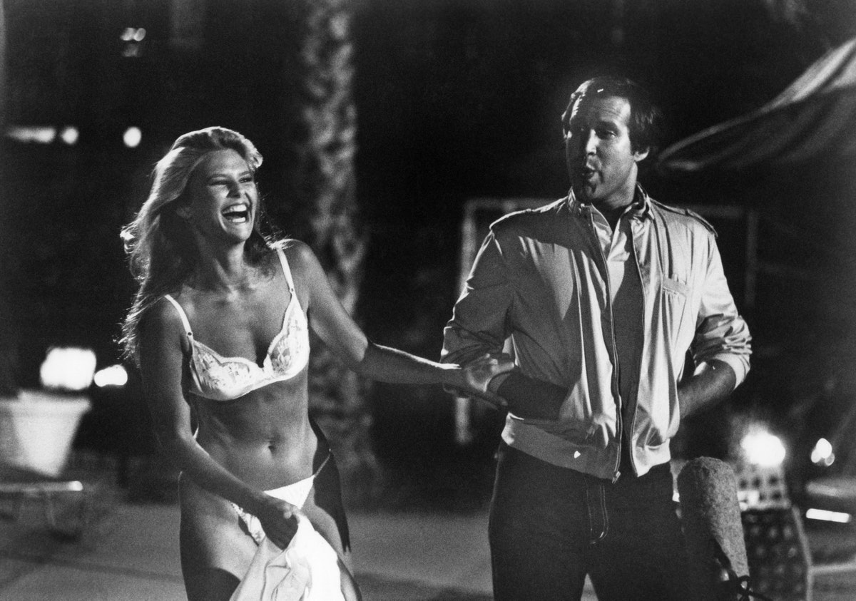 NATIONAL LAMPOON'S VACATION, Christie Brinkley, Chevy Chase, 1983, (c)Warner Bros./courtesy Everett