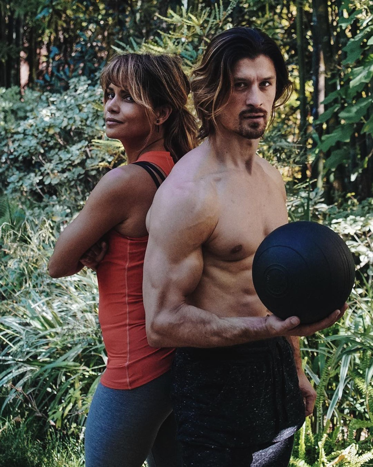 Halle Berry and Peter Lee Thomas