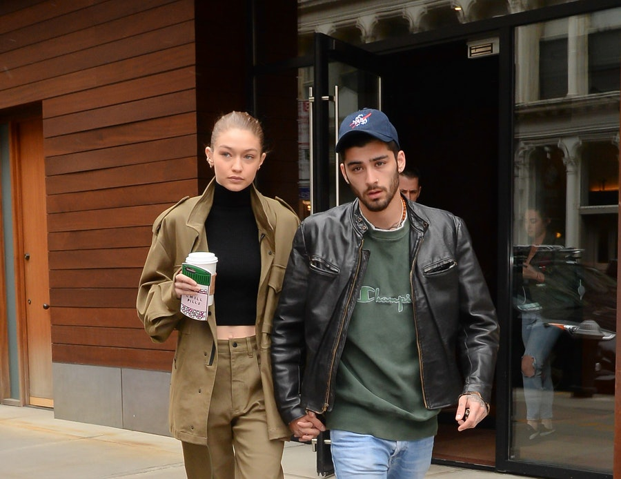Celebrity Sightings in New York City - April 25, 2017