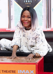 2018 TCM Classic Film Festival - Opening Night Gala - Cicely Tyson Hand And Footprint Ceremony