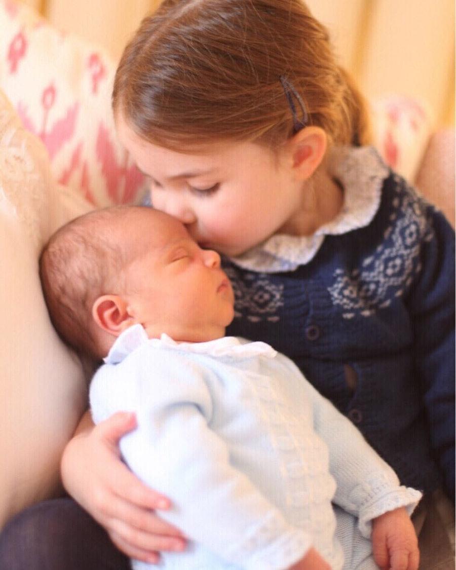 Princess Charlotte and Prince Louis