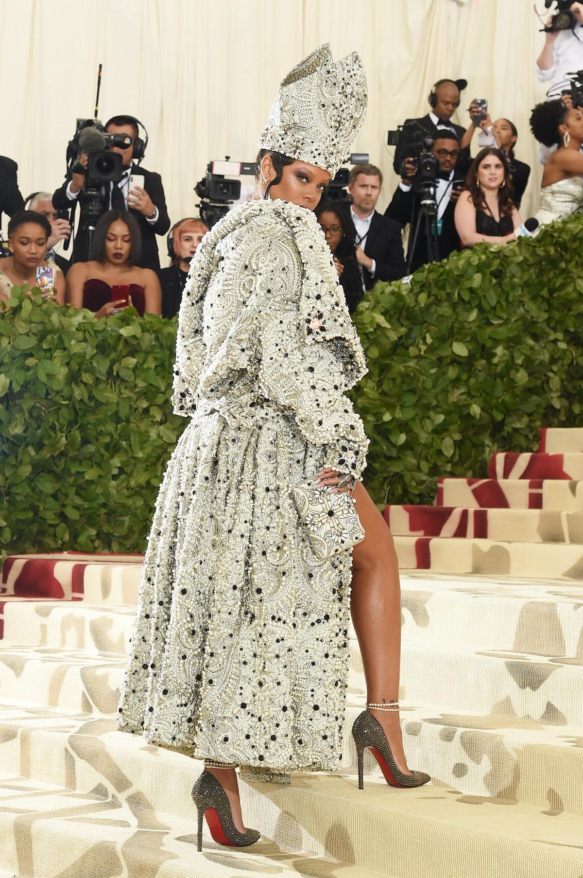 Rihanna as Pope