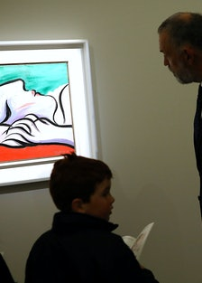 Sotheby's Hold Press Preview of Contemporary, Impressionist and Modern Art