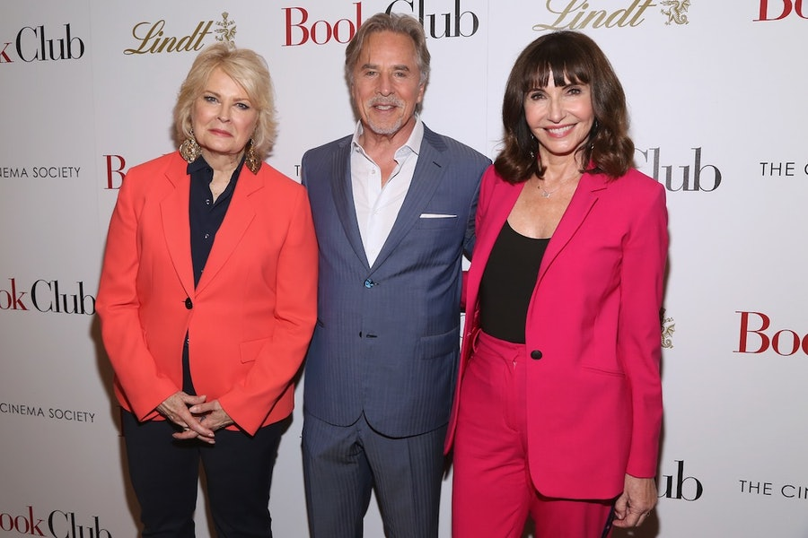 """Paramount Pictures With The Cinema Society & Lindt Host A Screening Of """"Book Club"""""""