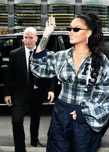 Rihanna Hosts Pep Rally To Celebrate Launch Of The AW17 FENTY PUMA By Rihanna Collection At Blooming...