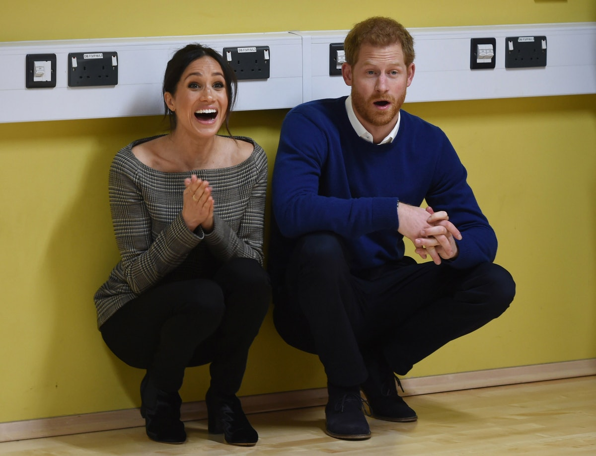 Prince Harry And Meghan Markle Visit Star Hub