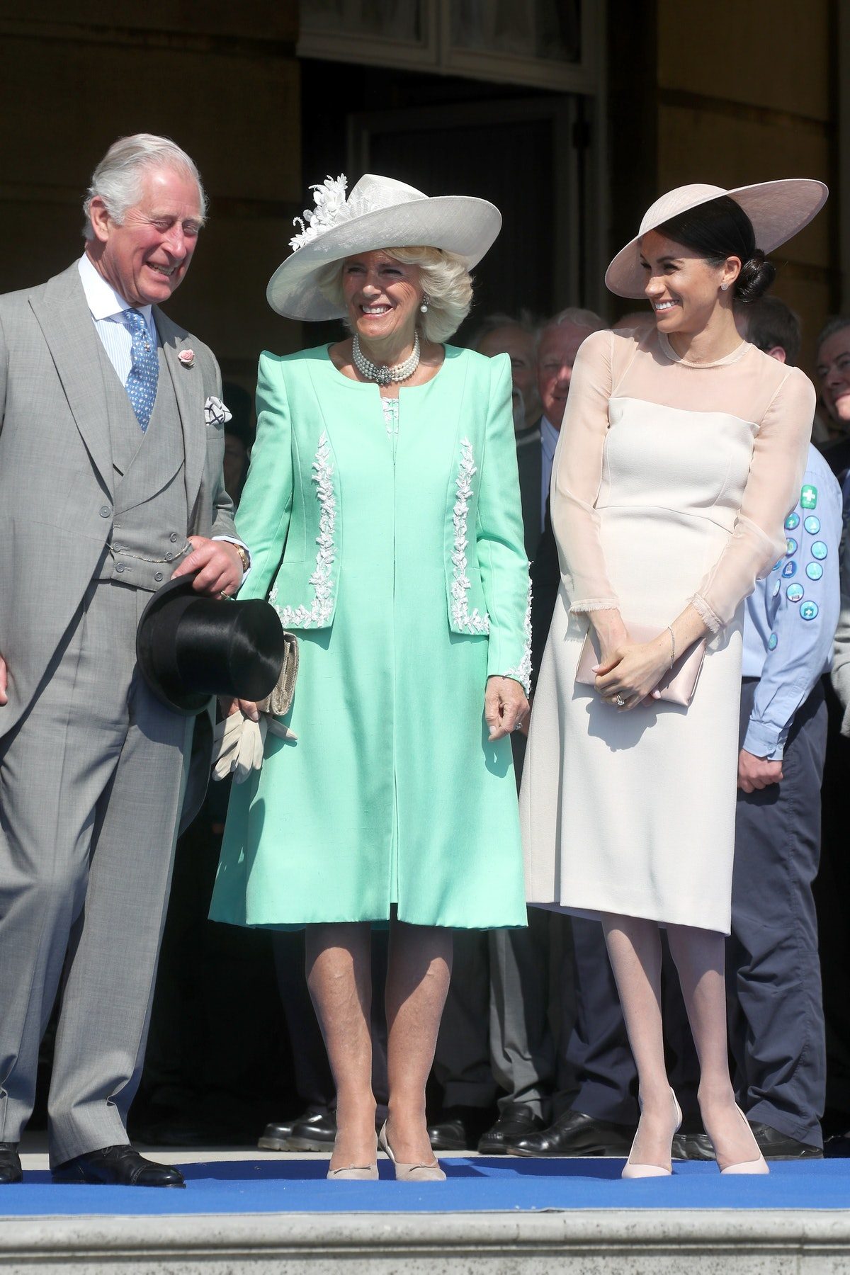 Meghan Markle Attends The Prince Of Wales' 70th Birthday Patronage Celebration