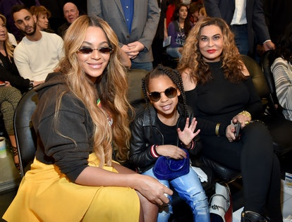 blue ivy beyonce tina knowles