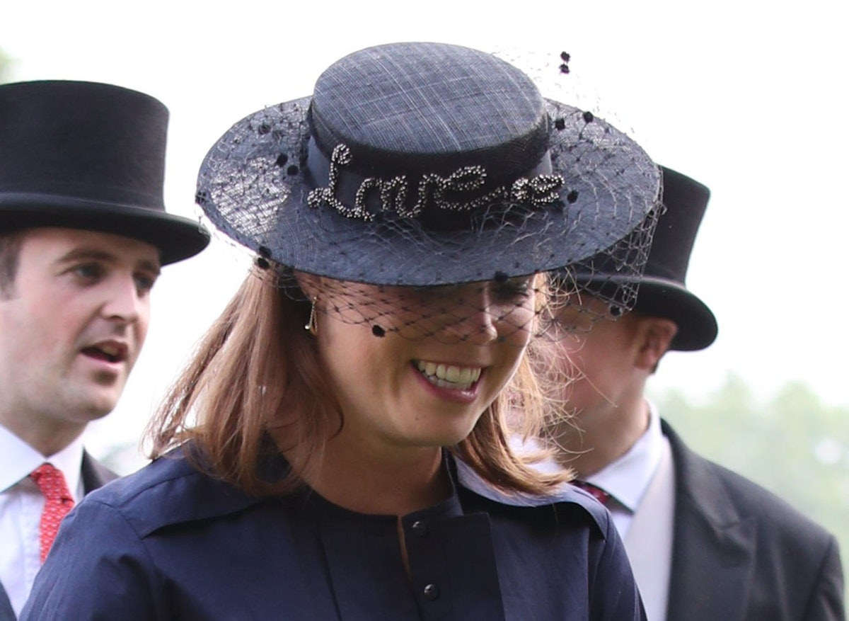 Princess Eugenie hat detail