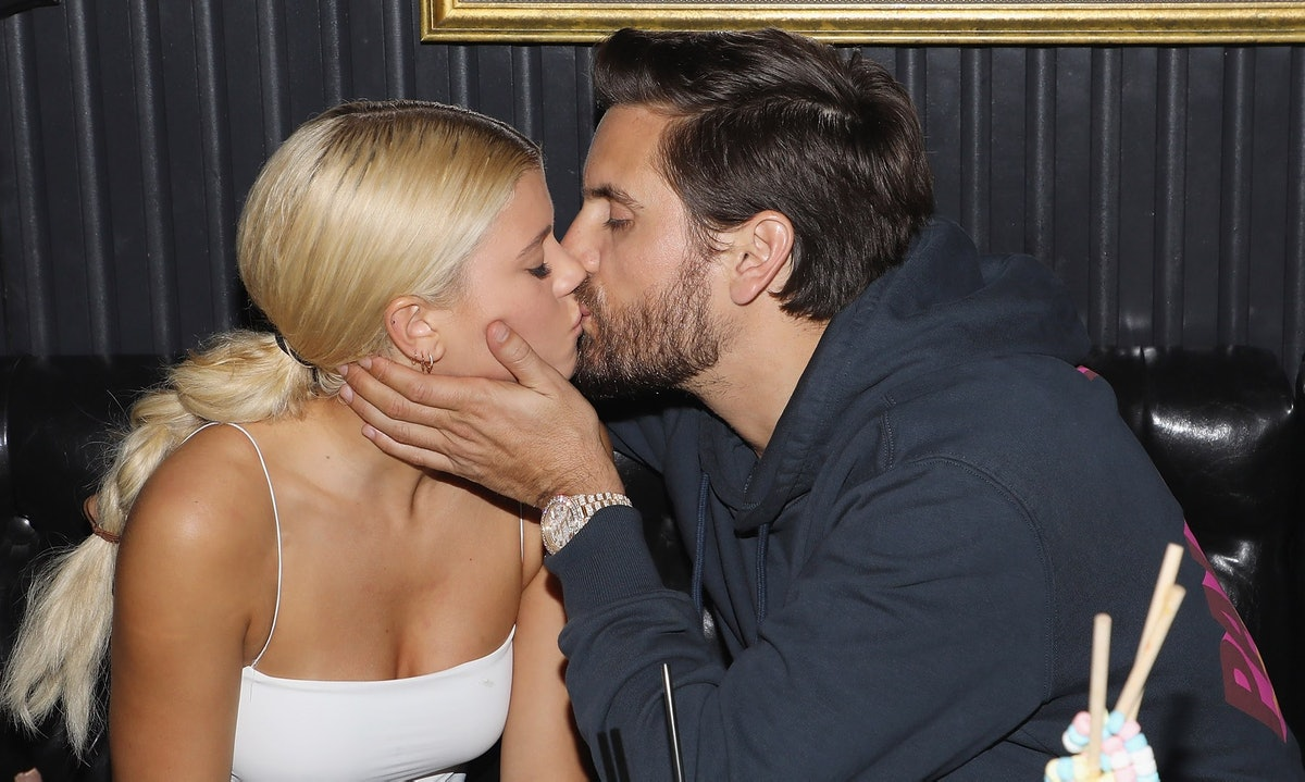 Scott Disick Art Week Party With Sofia Richie At Sugar Factory American Brasserie On Ocean Drive In ...