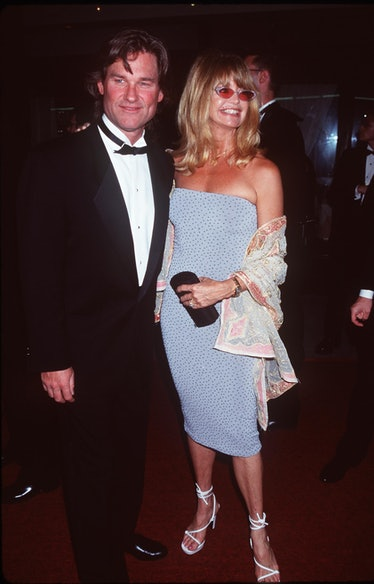 Kurt Russell And Goldie Hawn At The Tony Awareds Picture Robin Platzer/Twin I