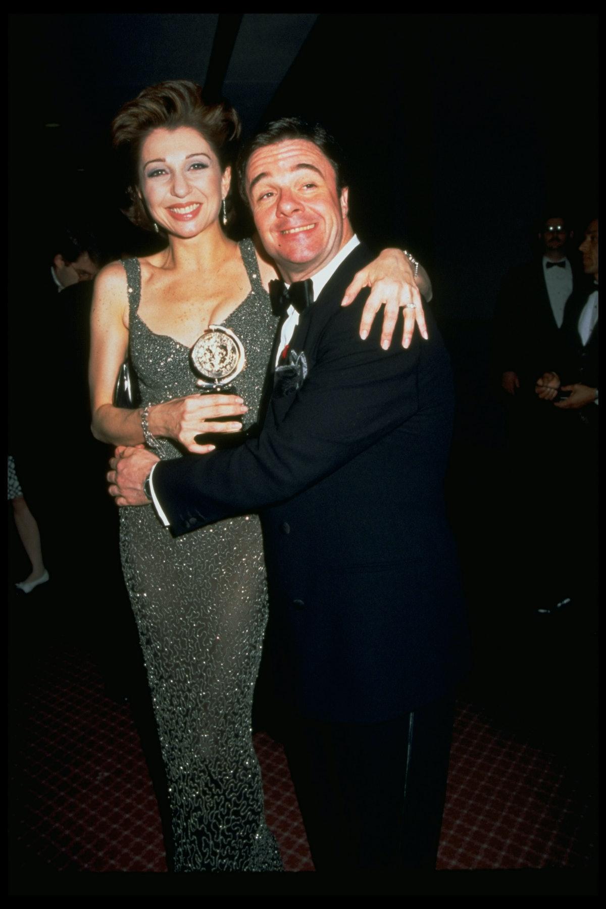 Nathan Lane;Donna Murphy