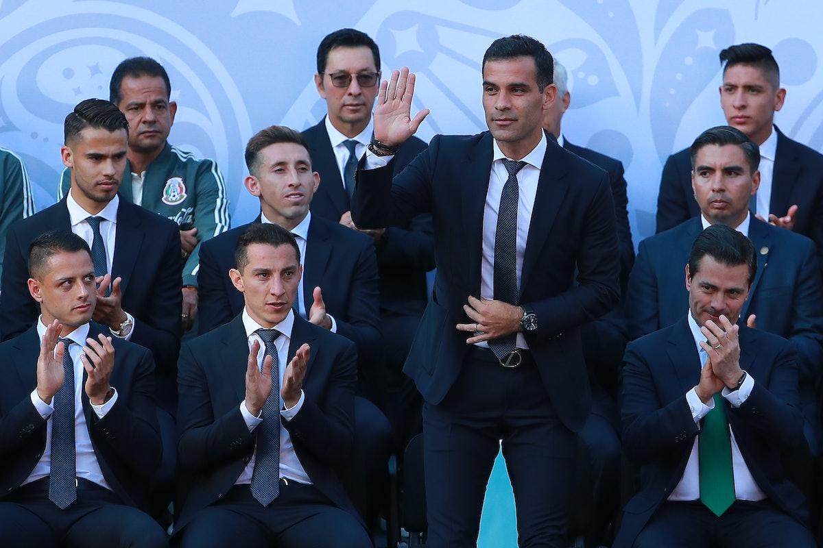 Enrique Pena Nieto Farewells Mexico National Team Ahead of the 2018 FIFA World Cup Russia