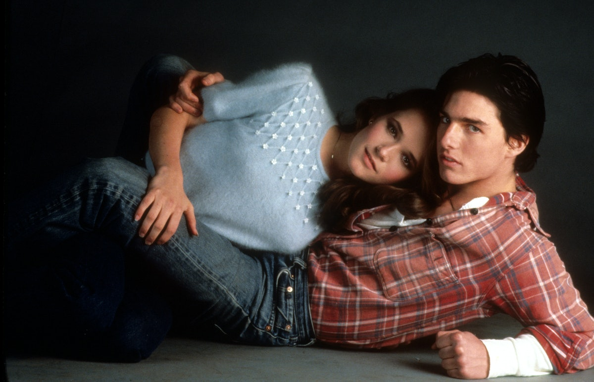 Lea Thompson And Tom Cruise In 'All The Right Moves'