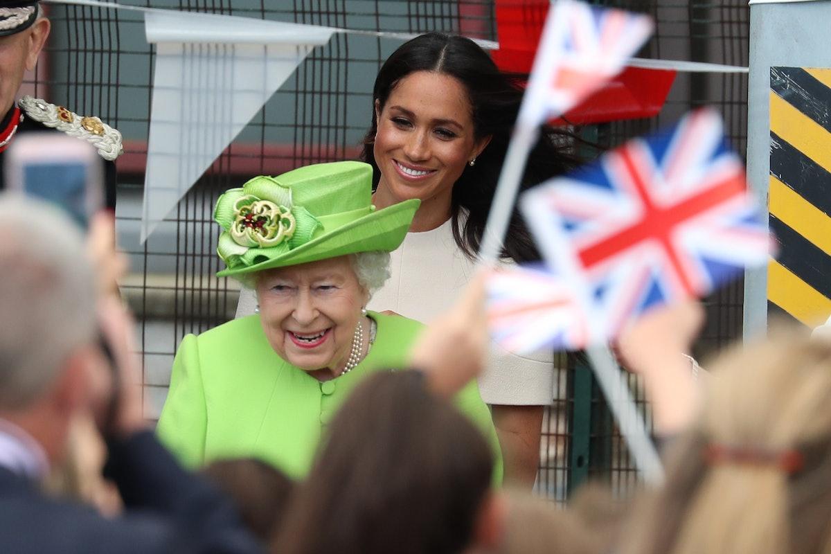 Queen Elizabeth II and Meghan Markle_1