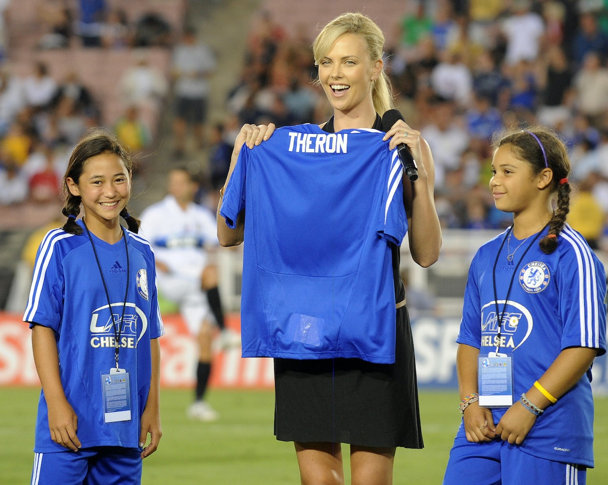 Actress Charlize Theron from South Afric