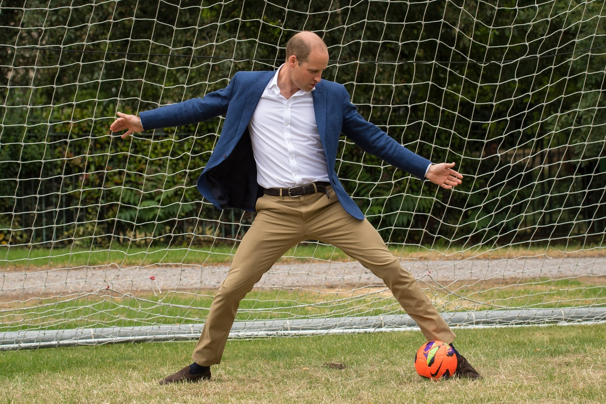 The Duke Of Cambridge Hosts A Good Luck Send Off For The England Women Football Team