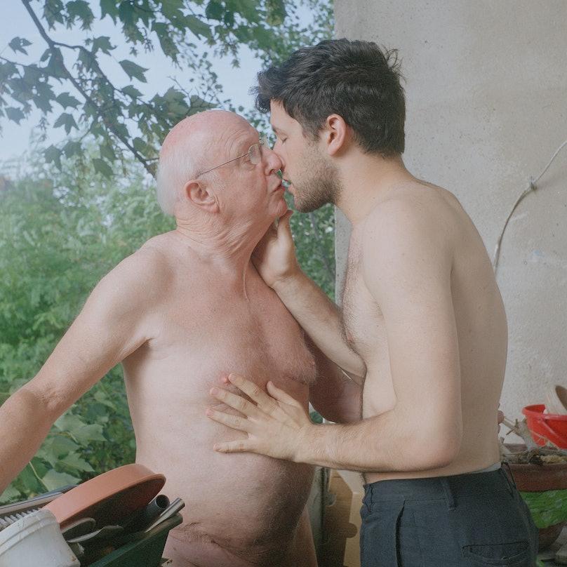 Matthew Morrocco_Kissing Rolf.jpg