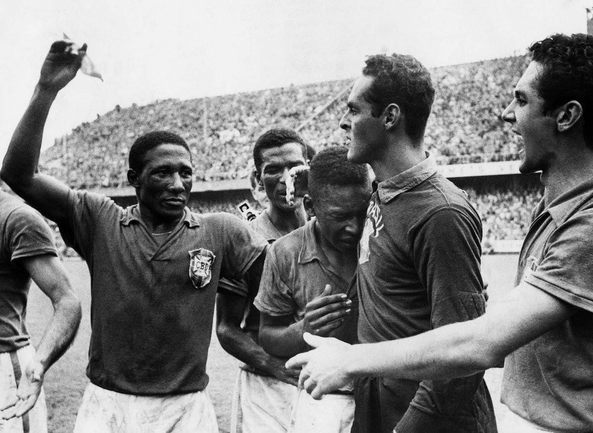 Finale De La Coupe Du Monde De Football, Match Suède Brésil