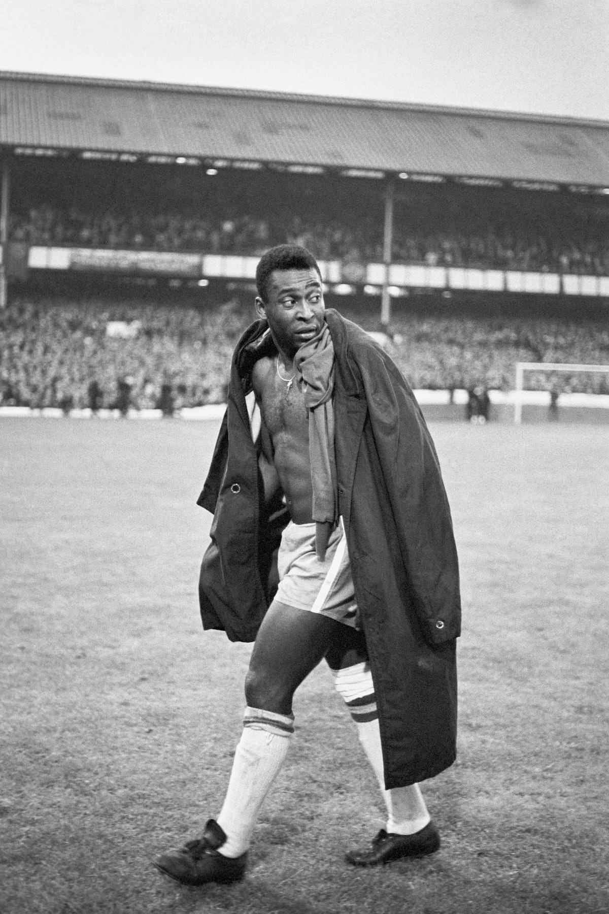 Soccer - World Cup England 1966 - Group Three - Portugal v Brazil - Goodison Park
