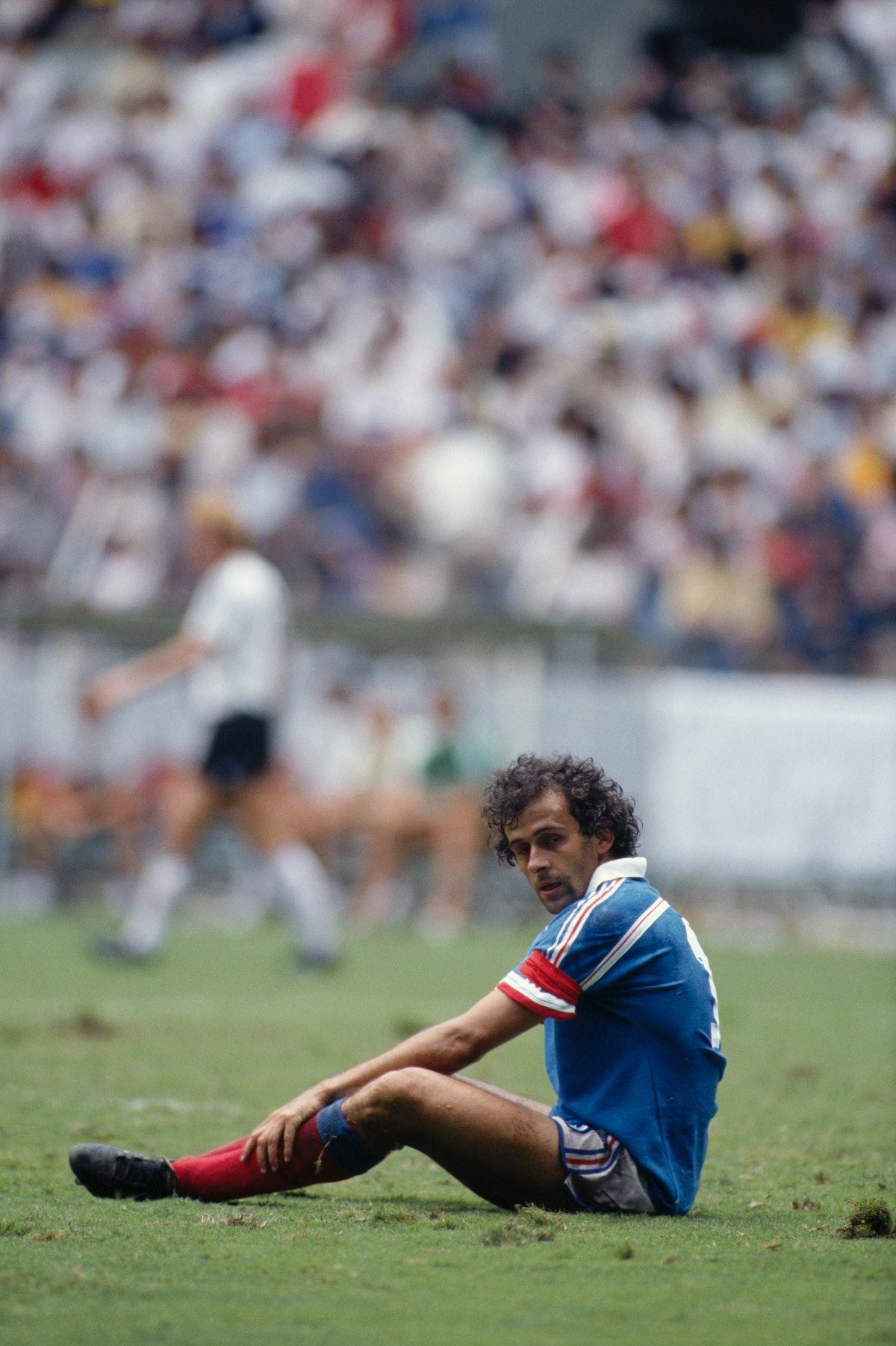 Soccer - 1986 FIFA World Cup - Michel Platini