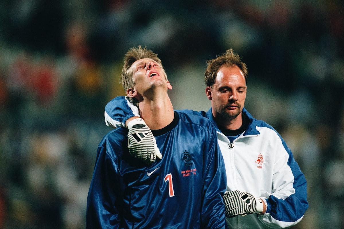 Soccer - 1998 World Cup - Semi-Final - Brazil vs Netherlands