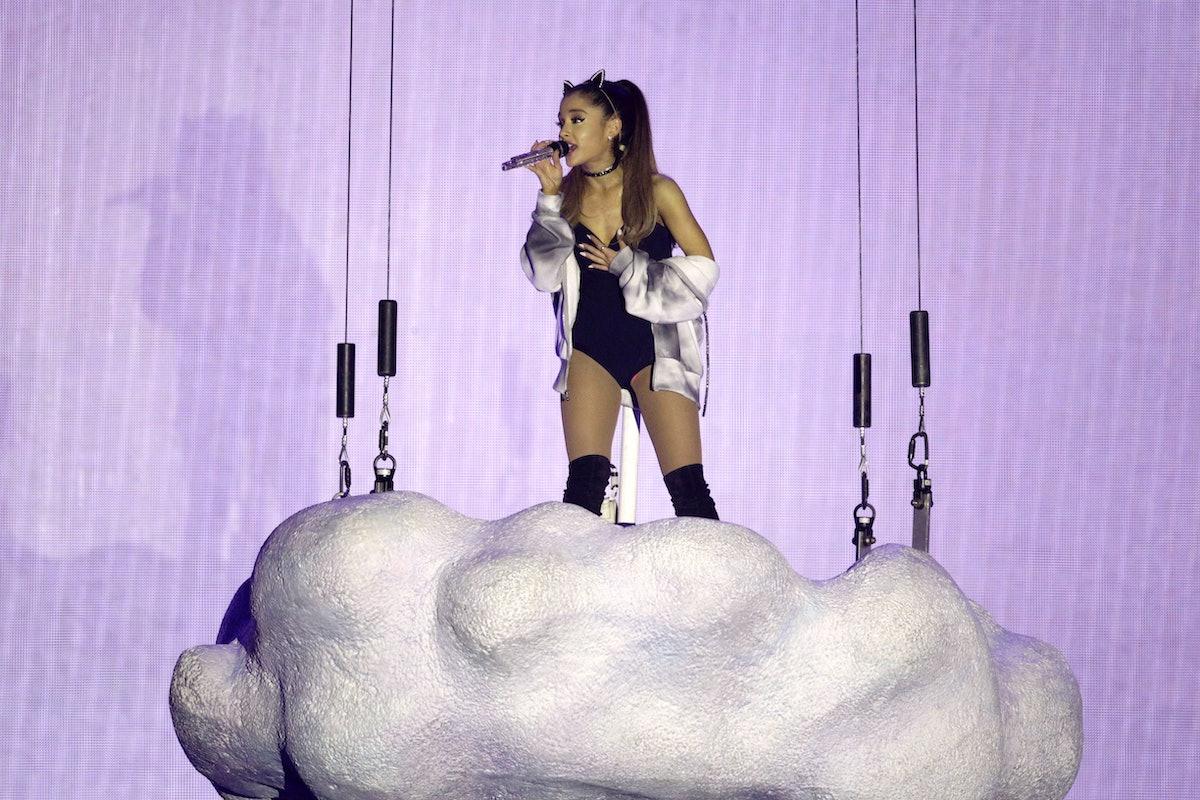 """Amerikanische Sängerin Ariana Grande gastiert auf ihrer """"The Honeymoon""""-Tour in der Lanxess-Arena Kö..."""