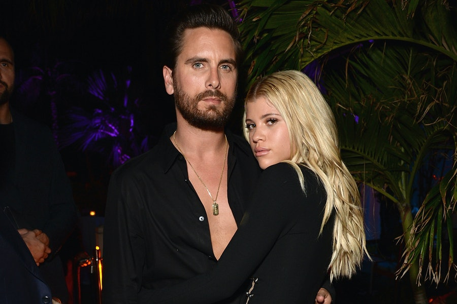 Scott Disick and Sofia Richie living together