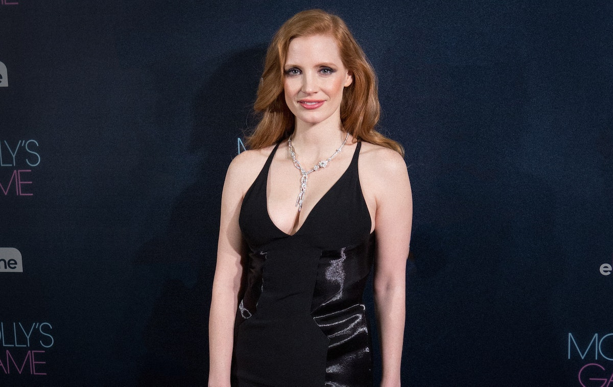 Jessica Chastain Attends 'Molly's Game' Madrid Premiere