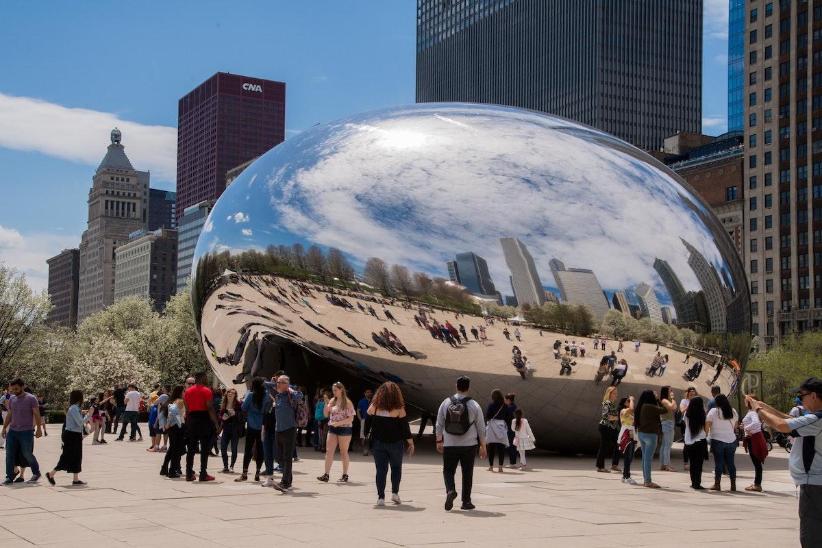 Cloud Gate In Chicago