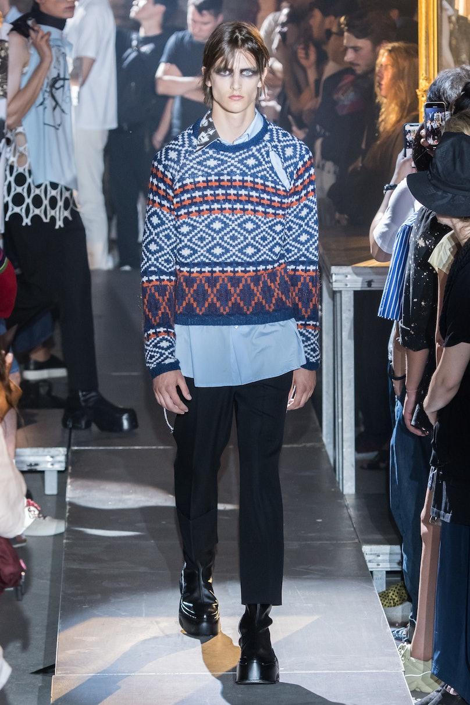 Raf Simons : Runway - Paris Fashion Week - Menswear Spring/Summer 2019