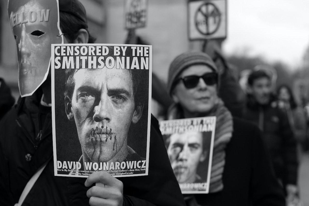 Activists Protest Censorship Of Controversial David Wojnarowicz Art Piece