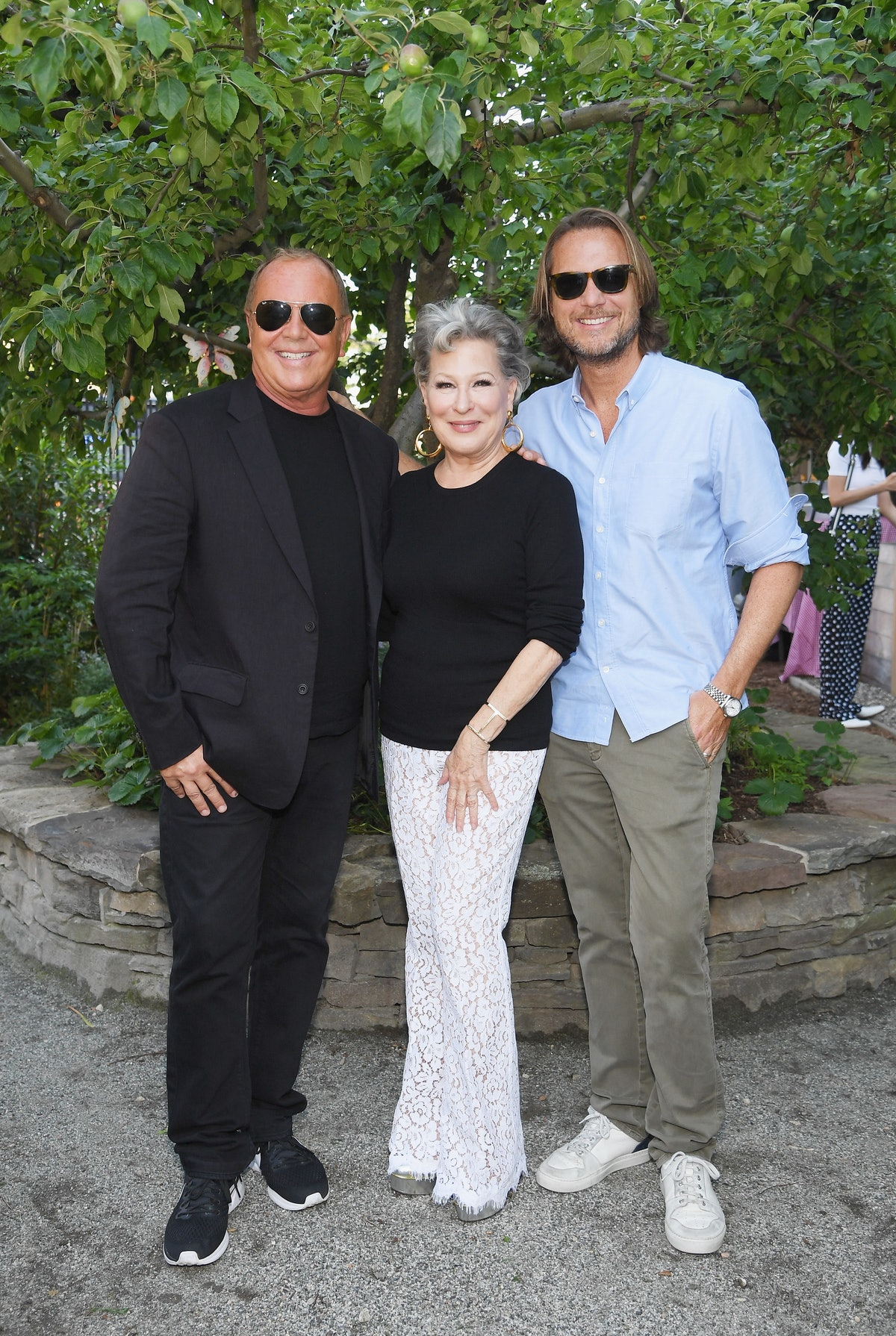 Michael Kors And the New York Restoration Project Celebrate The Opening Of The Essex Street Community Garden