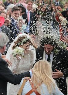 Kit Harington and Rose Leslie Wedding Sightings