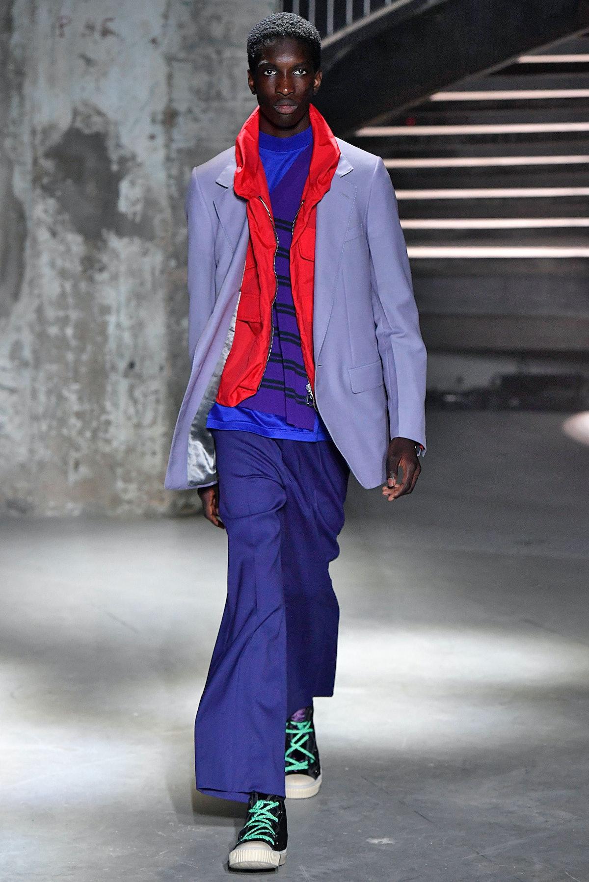 Lanvin : Runway - Paris Fashion Week - Menswear Spring/Summer 2019