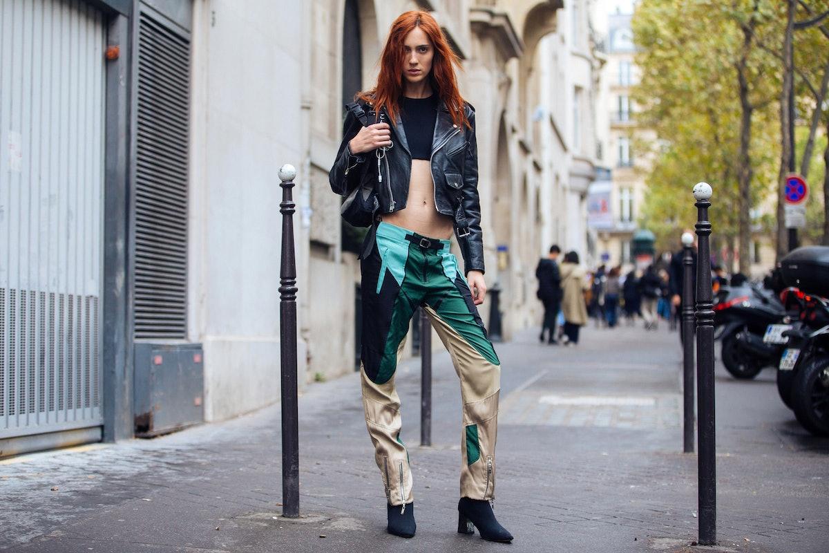 Street Style : Paris Fashion Week Womenswear Spring/Summer 2018 : Day Three