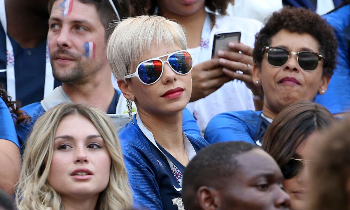 Celebrities Attend 2018 World Cup