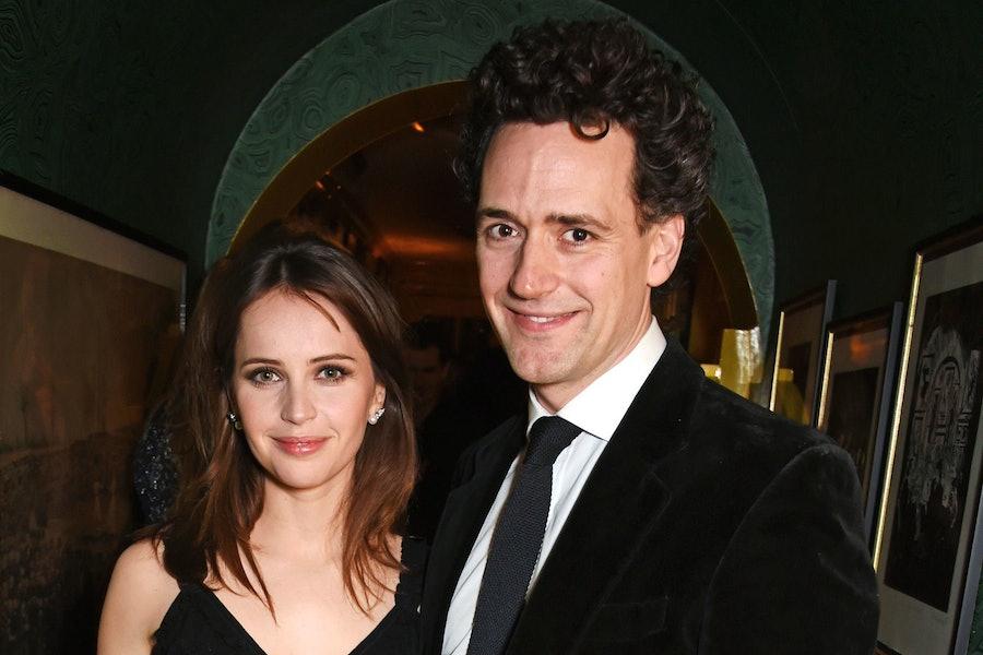 Felicity Jones Marries Charles Guard In A Secret Castle Wedding lead