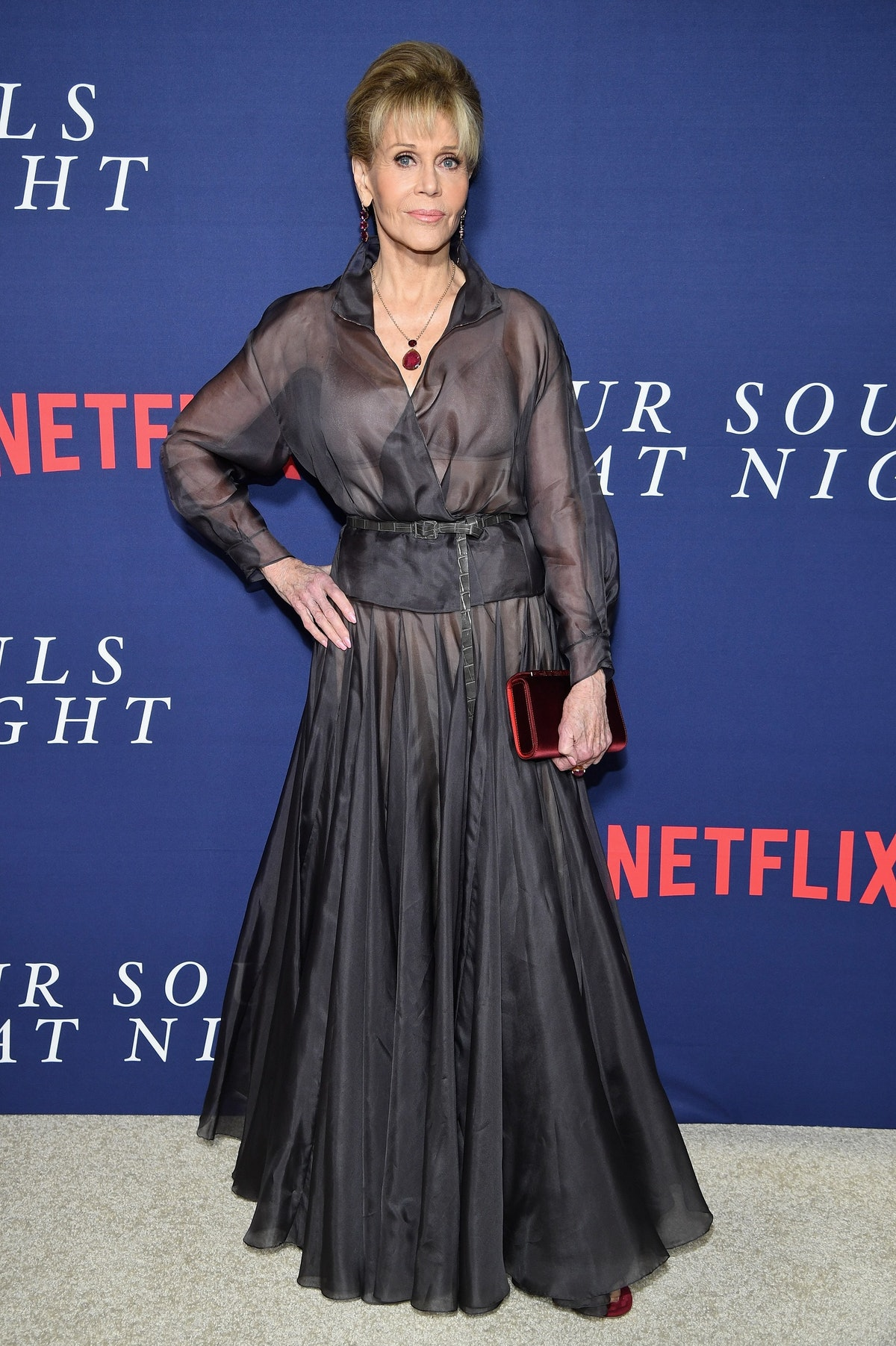 """Netflix Hosts The New York Premiere Of """"Our Souls At Night"""" - Arrivals"""