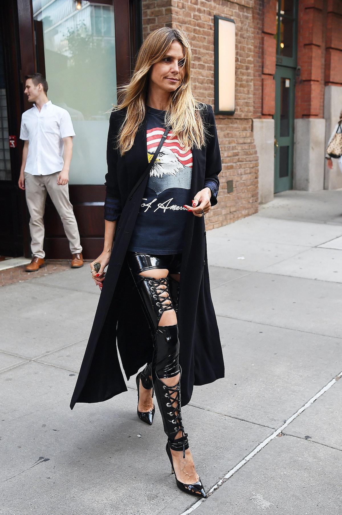 BuzzFoto Celebrity Sightings In New York - June 26, 2018