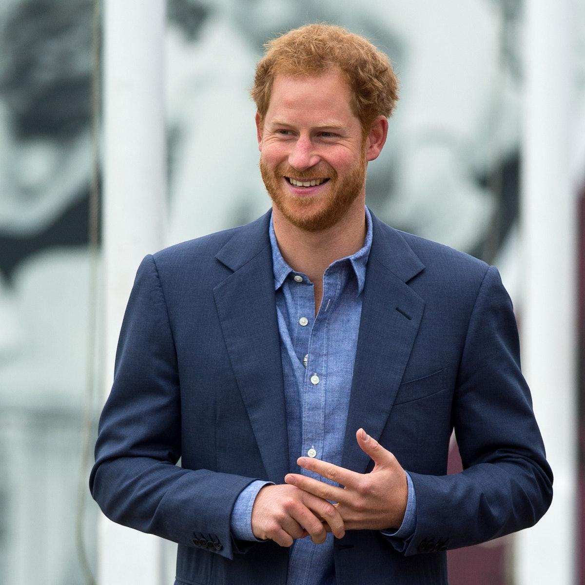 Prince Harry nephew gift