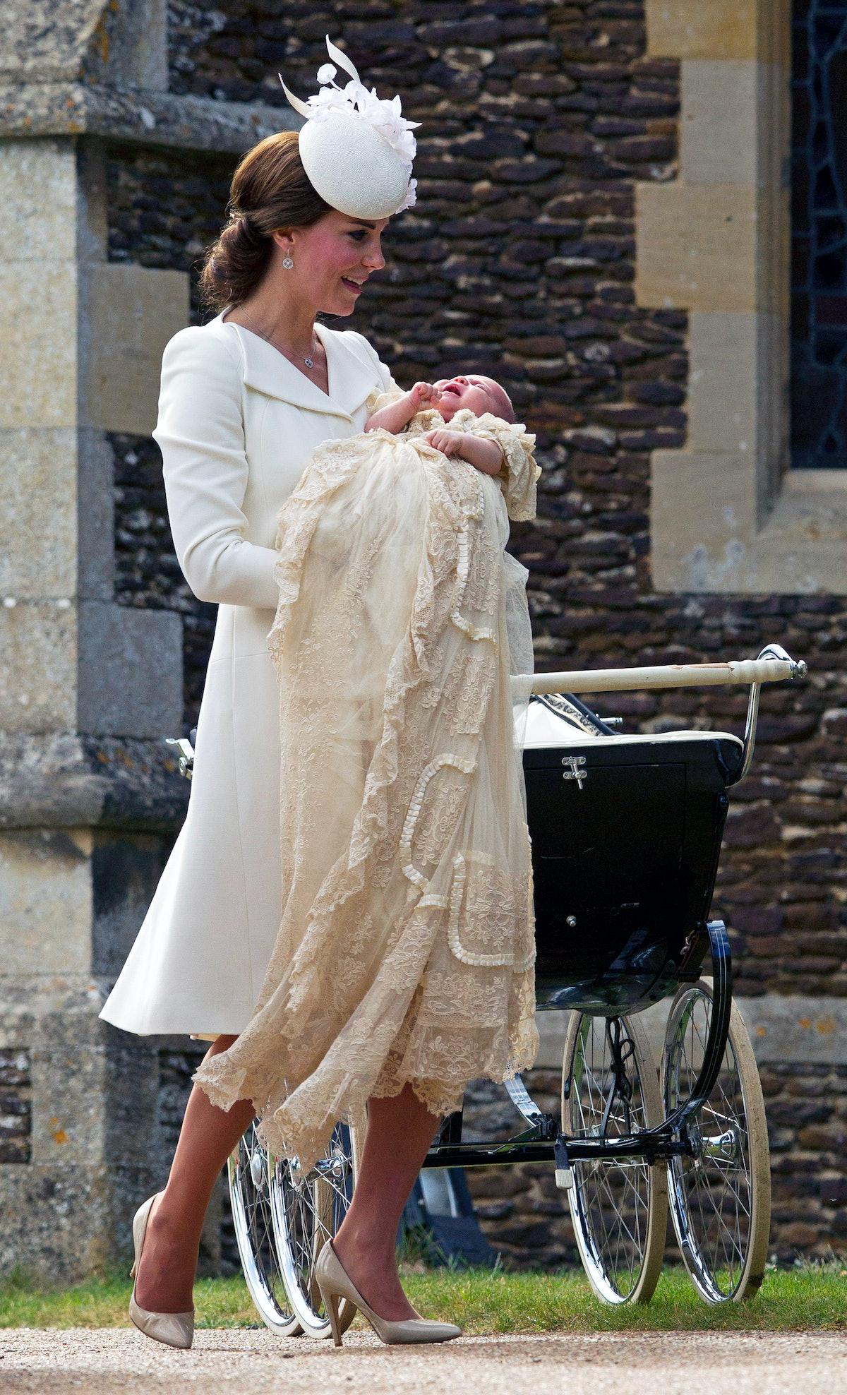 The Christening Of Princess Charlotte Of Cambridge