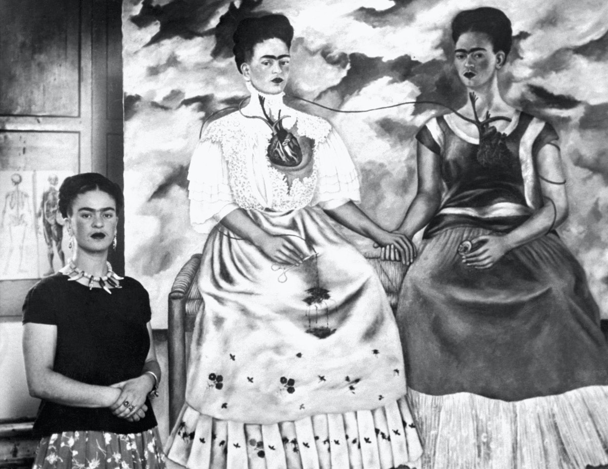 Frida Kahlo and Self Portraits