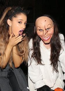 Pop Sensation Ariana Grande Visits Halloween Horror Nights 24 At Universal Orlando