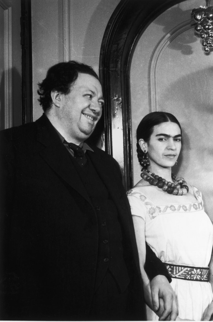 Frieda And Diego Kahlo