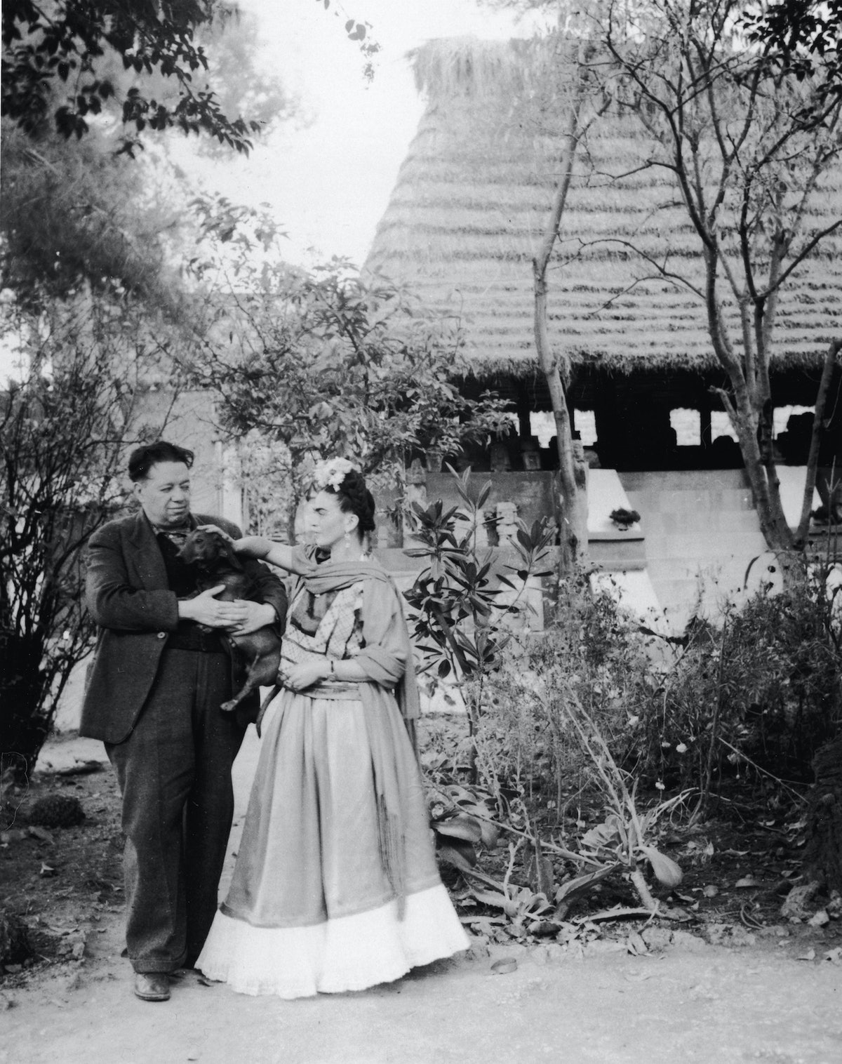 Rivera, Kahlo, & Dog