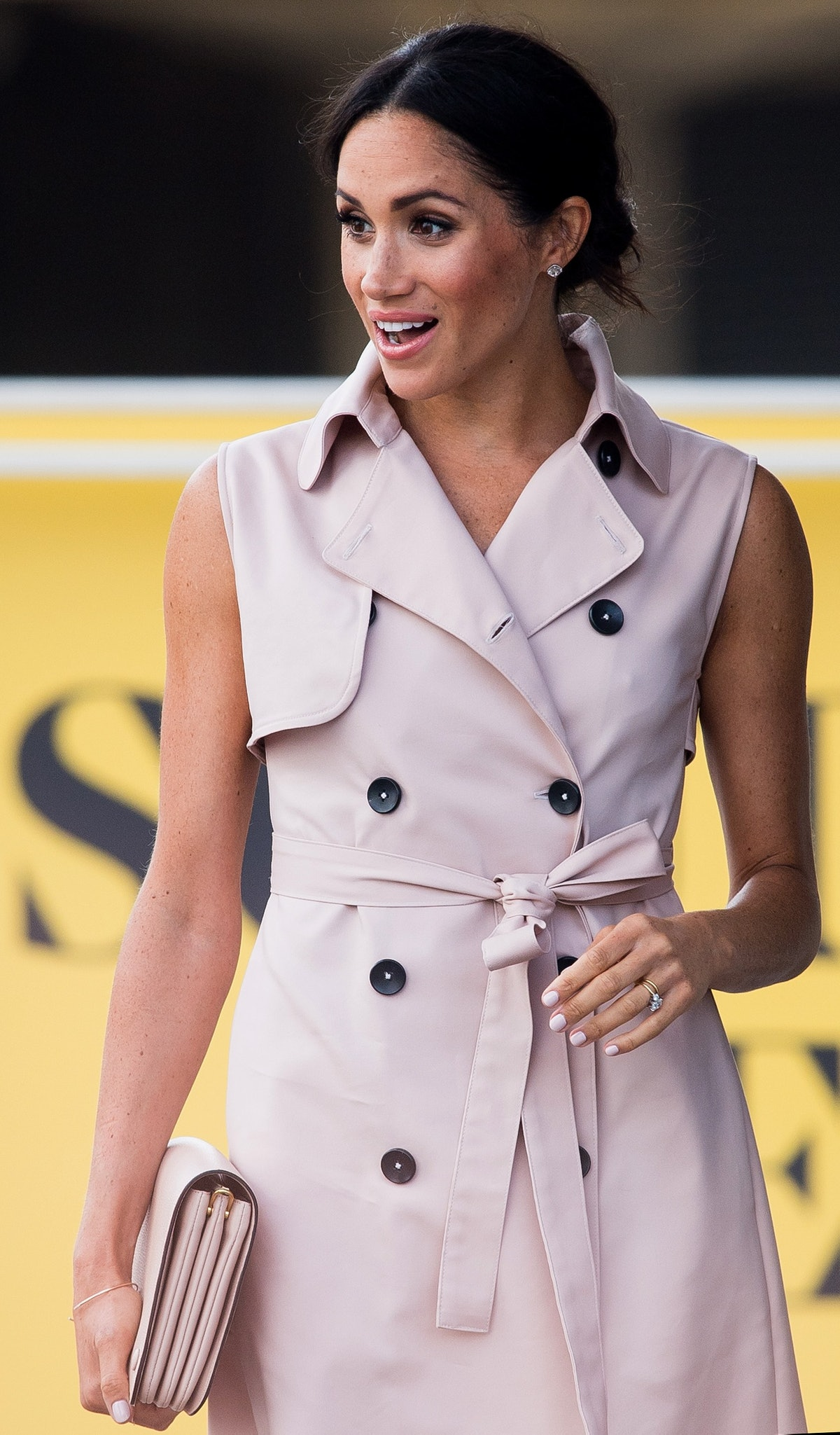Meghan Markle Swaps Nude Nails for a Royally Blush Shade 1