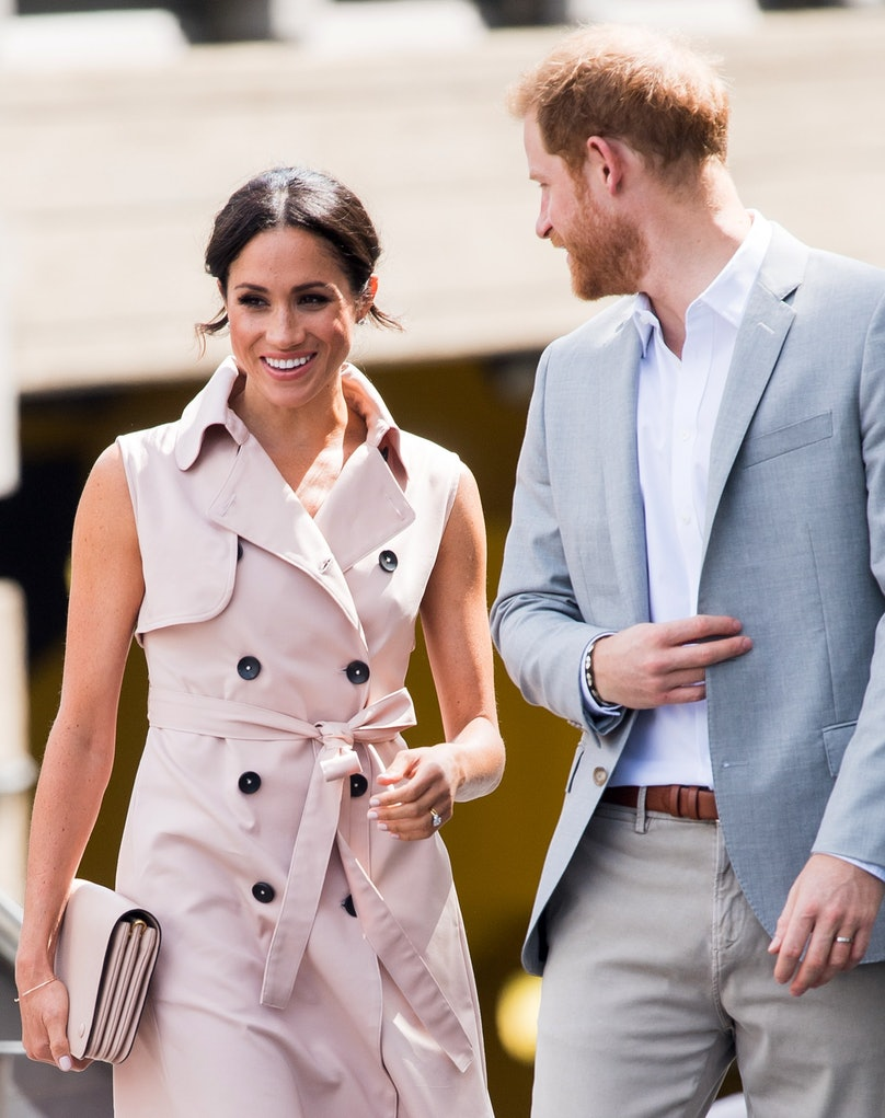Meghan Markle Swaps Nude Nails for a Royally Blush Shade 3
