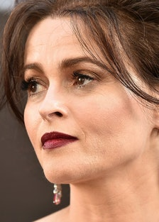 Helena Bonham Carter and Her Cigarette Have Arrived to Play The Crown's New Princess Margaret lead